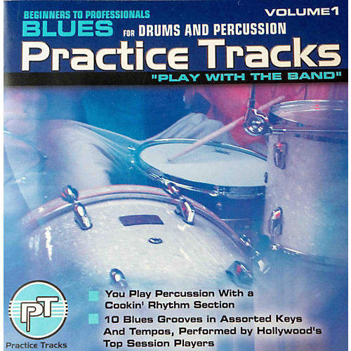 Practice Tracks Blues Drums CD-thumbnail