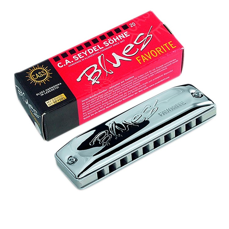 SEYDEL Blues Favorite Harmonica E