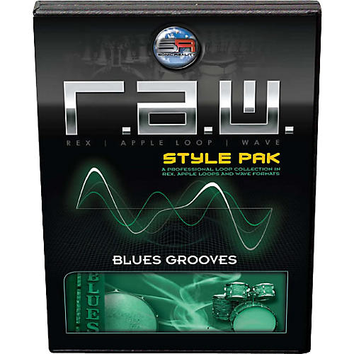 Sonic Reality Blues Grooves R.A.W. Style Pak-thumbnail