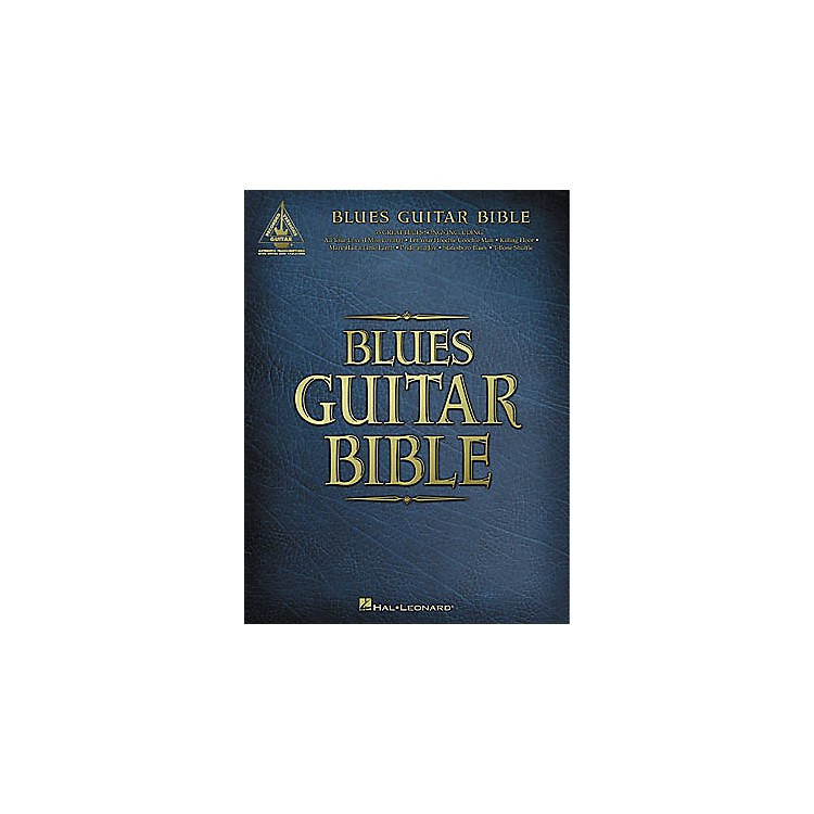 Hal LeonardBlues Guitar Bible Tab Book