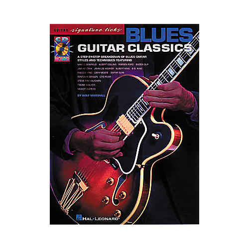 Hal Leonard Blues Guitar Classics (Book/CD)