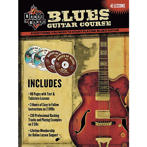 House of Blues Blues Guitar Course (2-DVD/2-CD Set)