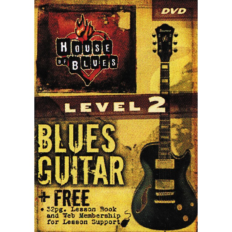 Rock House Blues Guitar Level 2 (DVD)