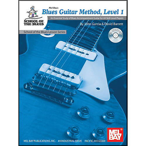 Mel Bay Blues Guitar Method, Level 1 Book and CD