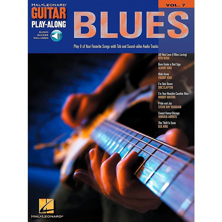 Hal LeonardBlues Guitar Play-Along Series Volume 7 Book with CD