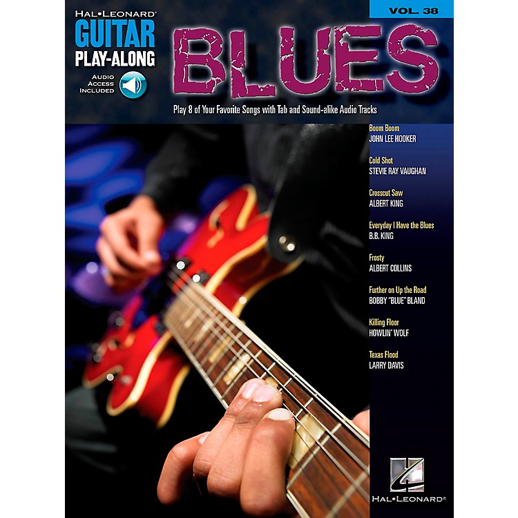 Hal Leonard Blues Guitar Play-Along Volume 38 Book with CD