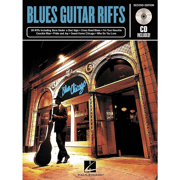 Hal Leonard Blues Guitar Riffs - 2nd Edition (Book/CD)