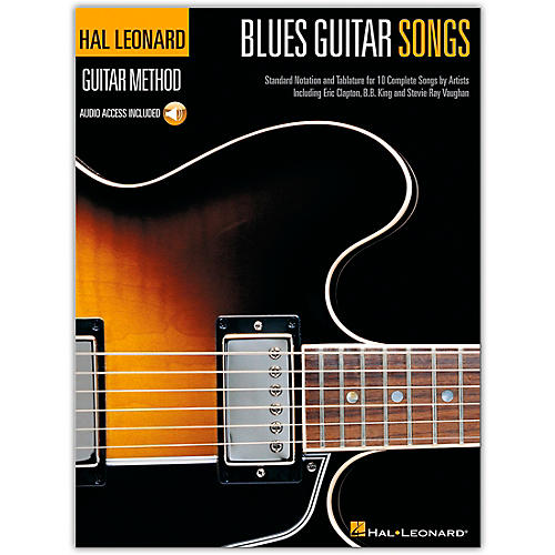 Hal Leonard Blues Guitar Songs Method Suppliment Songbook with CD