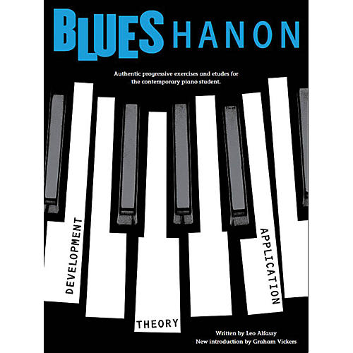 Music Sales Blues Hanon Music Sales America Series Softcover Written by Leo Alfassy-thumbnail