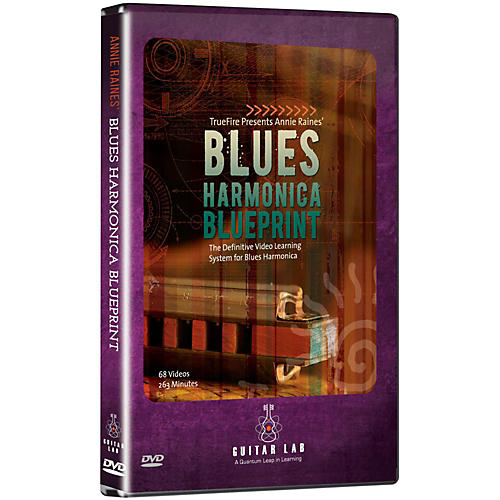 Emedia Blues Harmonica Blueprint DVD