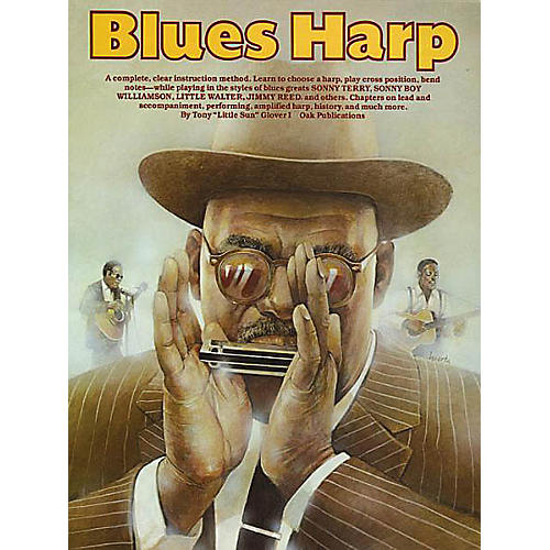 Music Sales Blues Harp Music Sales America Series Written by Tony Glover-thumbnail