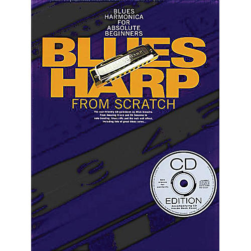 Music Sales Blues Harp from Scratch Music Sales America Series Softcover with CD Written by Mick Kinsella-thumbnail