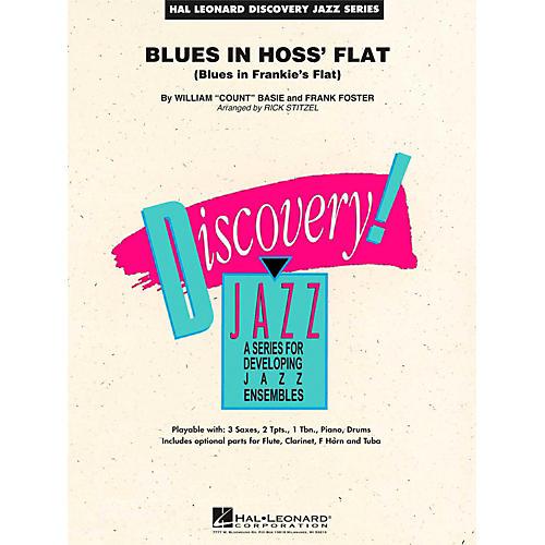 Hal Leonard Blues In Hoss Flat - Discovery Jazz Level 1.5-thumbnail