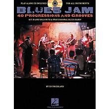 Hal Leonard Blues Jam 40 Progressions & Grooves (Book/CD)