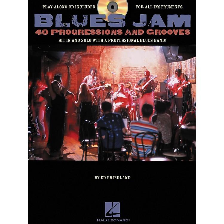 Hal LeonardBlues Jam 40 Progressions & Grooves (Book/CD)