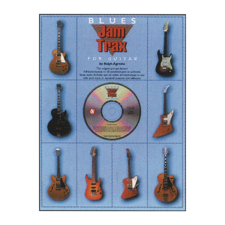 Music Sales Blues Jam Trax for Guitar CD