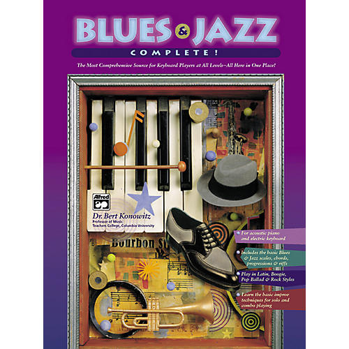 Alfred Blues & Jazz Complete for Keyboard (Book/2-CDs)