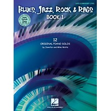 Hal Leonard Blues, Jazz, Rock & Rags - Book 1 Educational Piano Solo Series Book by Jennifer Watts (Level Late Elem)