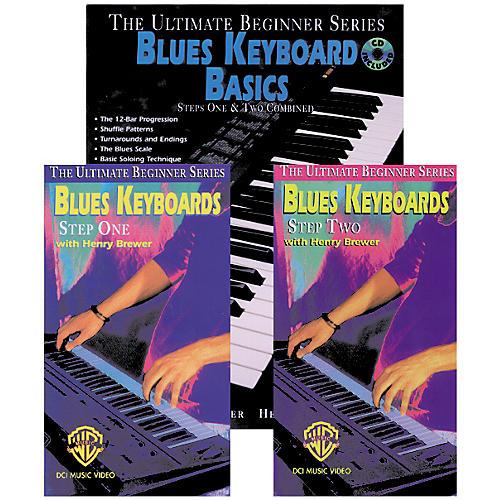 Alfred Blues Keyboard Basics Mega Pak Book/CD/Video