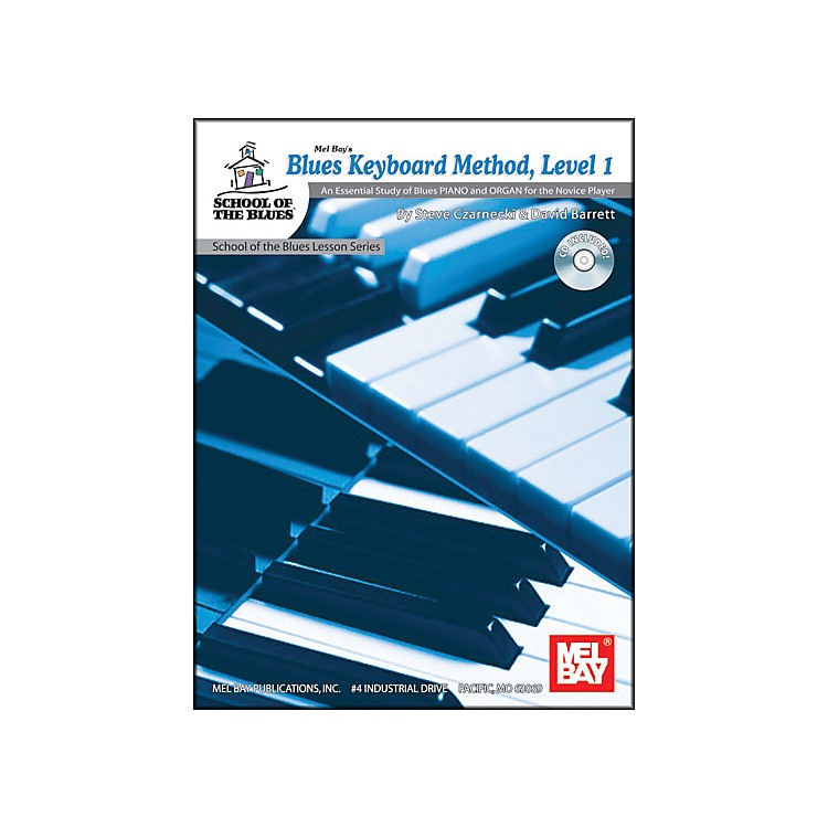 Mel Bay Blues Keyboard Method, Level 1 Book and CD