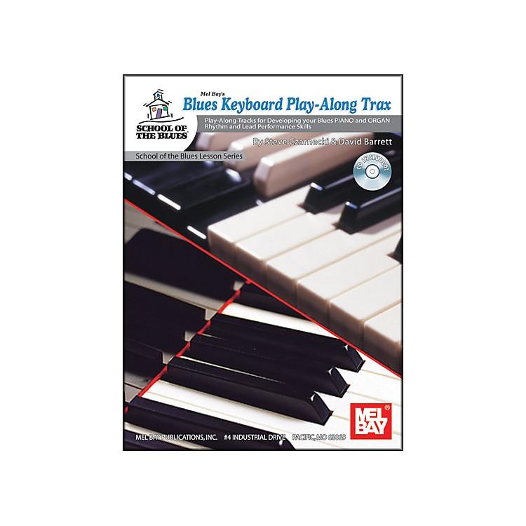 Mel BayBlues Keyboard Play-Along Trax Book and CD