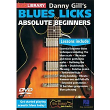 Licklibrary Blues Licks for Absolute Beginners Lick Library Series DVD Written by Danny Gill