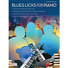 Cherry Lane Blues Licks for Piano Educational Piano Series Softcover Written by Blake Neeley