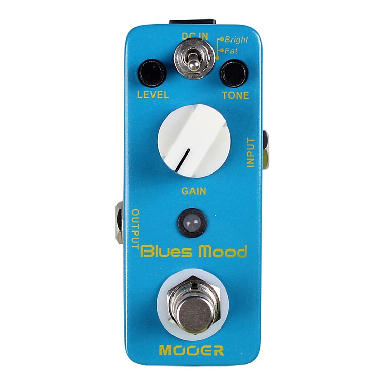 mooer blues mood classic blues overdrive guitar effects pedal musician 39 s friend. Black Bedroom Furniture Sets. Home Design Ideas