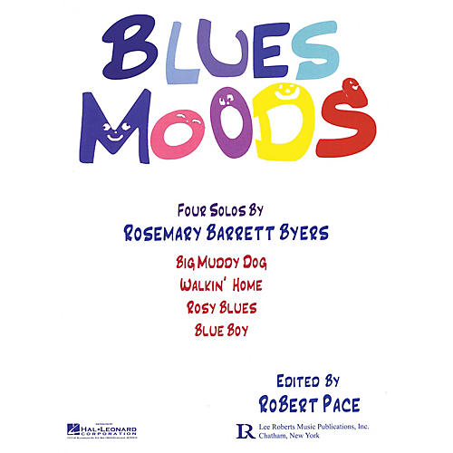Lee Roberts Blues Moods Pace Piano Education Series Softcover Composed by Rosemary Barrett Byers-thumbnail