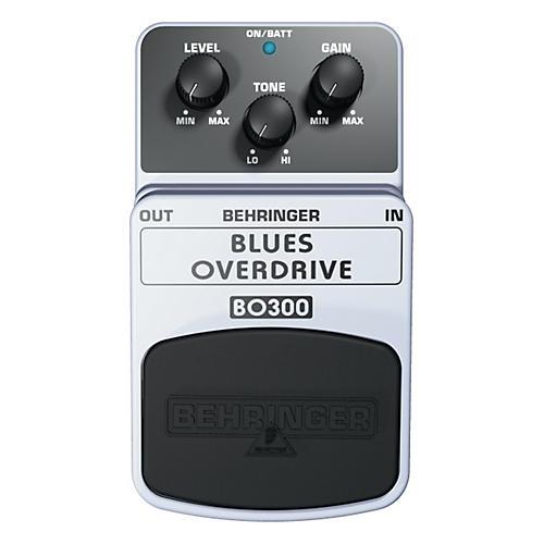 Behringer Blues Overdrive BO300 Guitar Effects Pedal-thumbnail