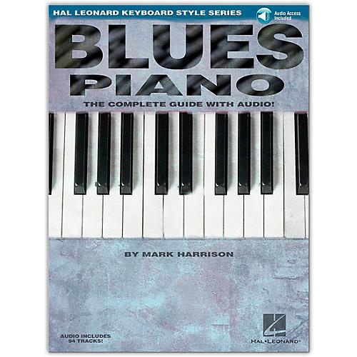 Hal Leonard Blues Piano Keyboard Style Series (Book/Online Audio)