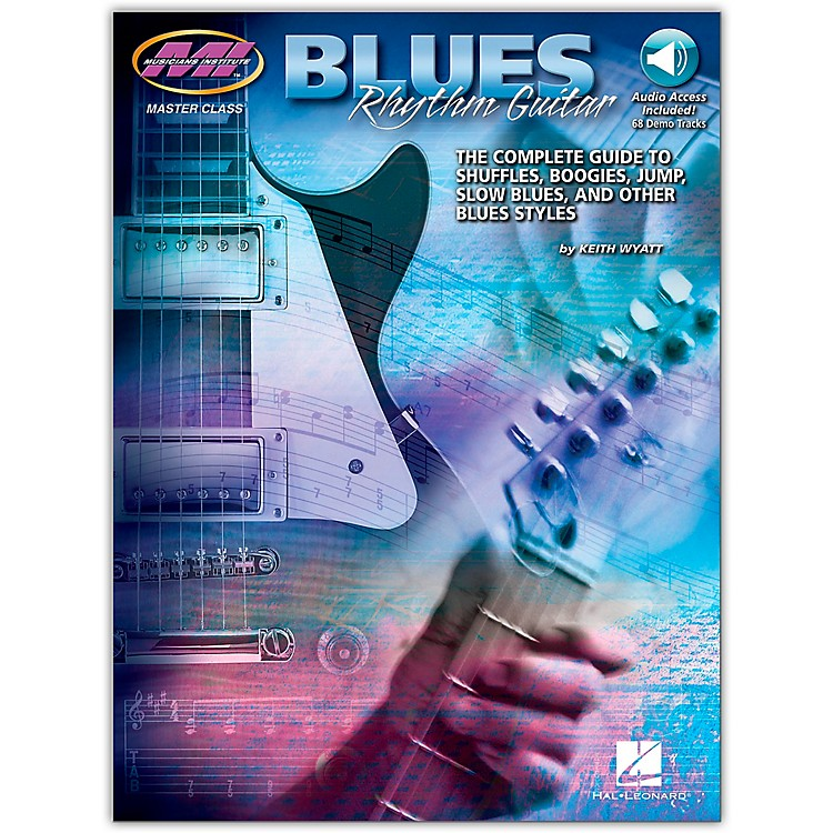 Hal Leonard Blues Rhythm Guitar - MI Series Book/CD