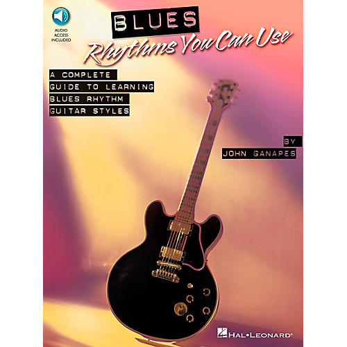 Hal Leonard Blues Rhythms You Can Use Book/CD