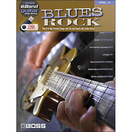 Hal Leonard Blues Rock - Boss eBand Guitar Play-Along Volume 4