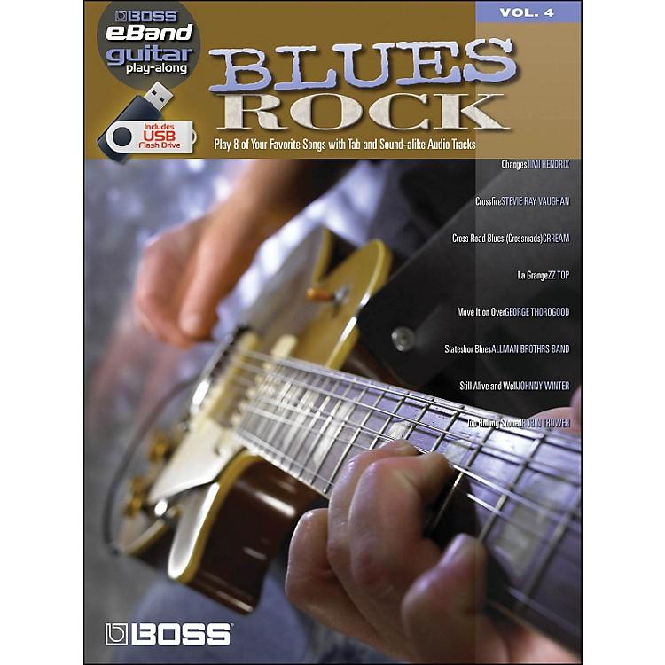 Hal LeonardBlues Rock - Boss eBand Guitar Play-Along Volume 4