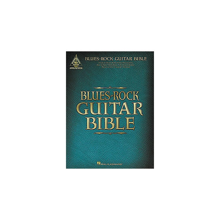 Hal LeonardBlues-Rock Guitar Bible Tab Book