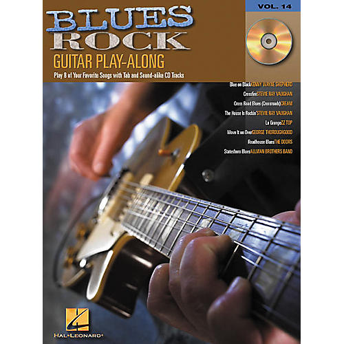 Hal Leonard Blues Rock Guitar Play-Along Series Book with CD-thumbnail