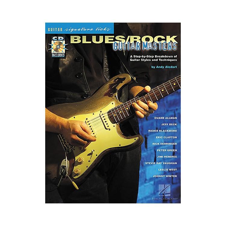 Hal LeonardBlues/Rock Masters Guitar Signature Licks Book with CD