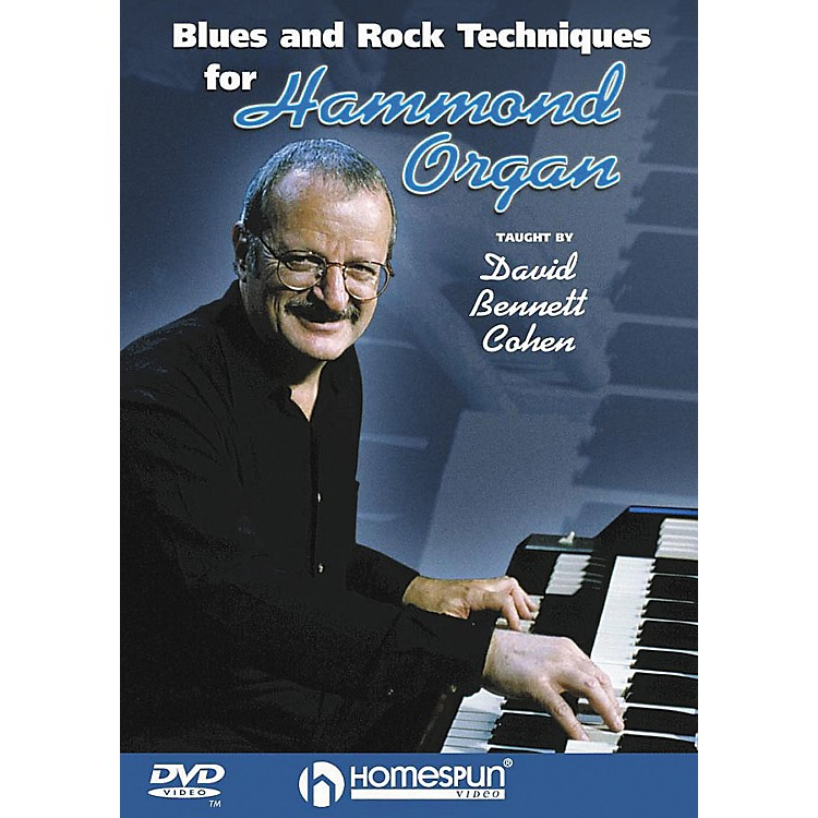 Homespun Blues & Rock Techniques for Hammond Organ (DVD)