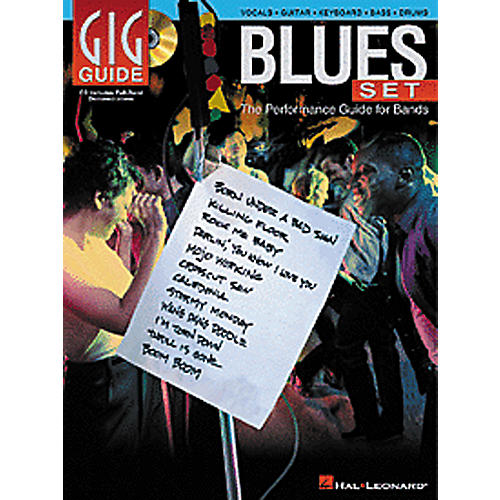 Hal Leonard Blues Set - The Performance Guide for Bands (Bass/Drums/Guitar/Vocal/Keyboard) Book/CD-thumbnail