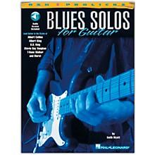Hal Leonard Blues Solos for Guitar (Book/Online Audio)