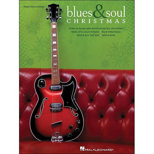 Hal Leonard Blues & Soul Christmas arranged for piano, vocal, and guitar (P/V/G)