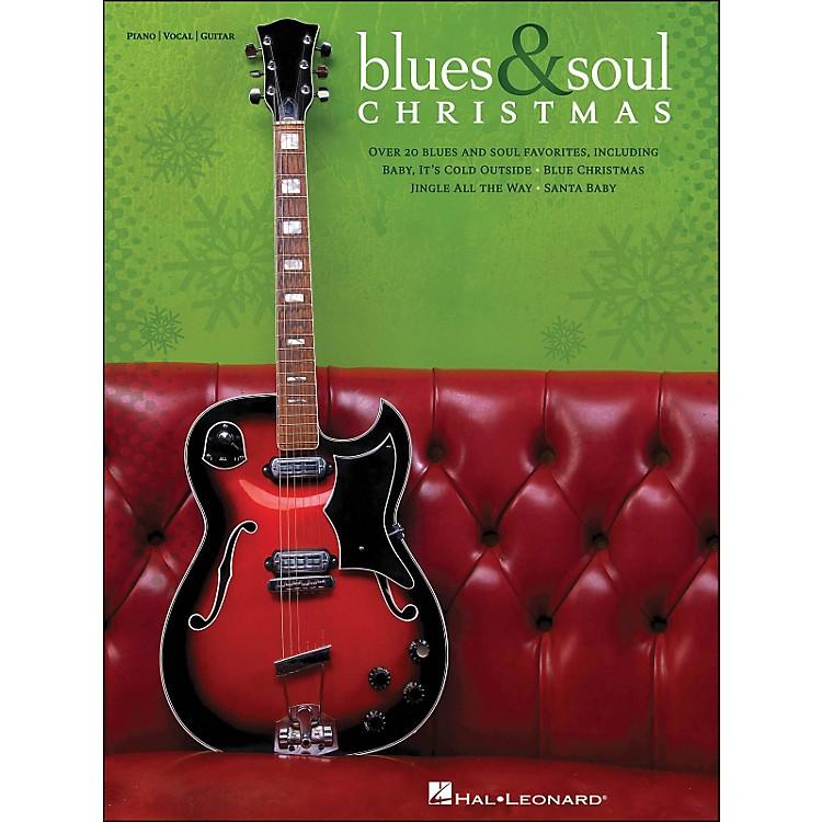 Hal LeonardBlues & Soul Christmas arranged for piano, vocal, and guitar (P/V/G)