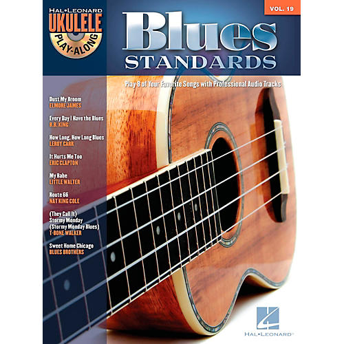Hal Leonard Blues Standards - Ukulele Play-Along Volume 19 Book/CD