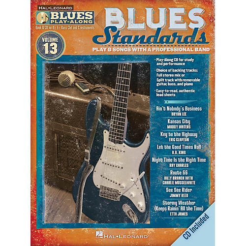 Hal Leonard Blues Standards (Blues Play-Along Volume 13) Blues Play-Along Series Softcover with CD by Various