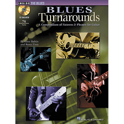 Hal Leonard Blues Turnarounds (Book/CD)
