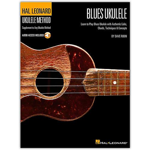 Hal Leonard Blues Ukulele Method - Book/CD