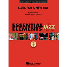 Hal Leonard Blues for a New Day Jazz Band Level 1-2 Composed by Mike Steinel