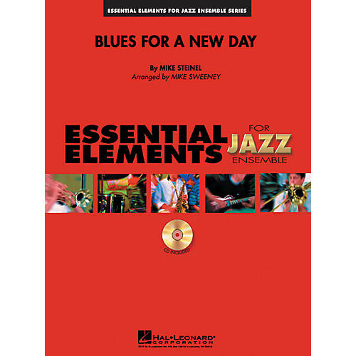 Hal Leonard Blues for a New Day Jazz Band Level 1-2 Composed by Mike Steinel-thumbnail