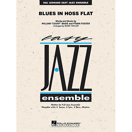 Hal Leonard Blues in Hoss' Flat (Blues in Frankie's Flat) Jazz Band Level 2 by Count Basie Arranged by Mark Taylor-thumbnail